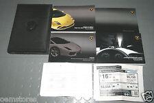 2013 Lamborghini Gallardo LP560-4 LP 560-4 Owners Manual - SET (USA & Canada)
