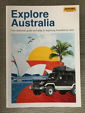 Brand New 2017 Explore Australia Essential Guide and Road Atlas Soft Cover Book