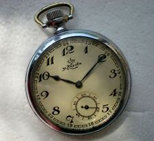 KIROVSKIE KIROVKA Soviet Russian USSR pocket watch  military