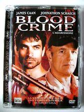 Dvd Blood crime - L'aggressione - ed Super Jewel box 2002 Usato fuori cat.