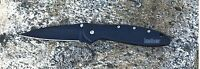 1660CKT Kershaw Leek Knife black plain Blade New*Blem* USA assisted opener