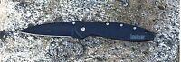 1660CKT Kershaw Leek Knife black plain Blade New*Blem* USA assisted opener