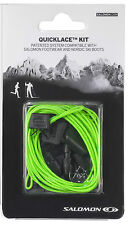 SALOMON  XT WINGS XA PRO QUICK LACES LACE KIT GREEN quicklace 326677