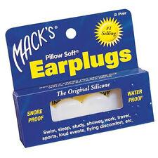 Mack's Pillow Soft Earplugs voice proof snore loud noise