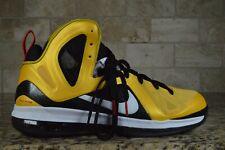 BRAND NEW Nike Lebron 9 Elite IX Taxi 516958-700 Size 10.5 Yellow OG