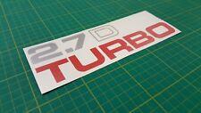Nissan Terrano 2.7D Turbo Decalcomania Grafiche Riparazione Ricambio Navara