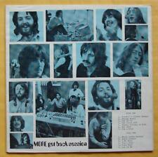 The Beatles LP MORE GET BACK SESSION