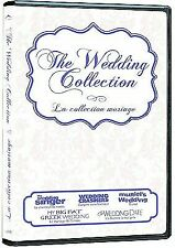 The Wedding Collection 2 DVD New 5 Movie Wedding Singer Wedding Crashers + More