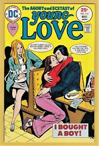 YOUNG LOVE #115 VERY FINE+ (8.5) *SCARCE ~ HIGH GRADE D.C ROMANCE*