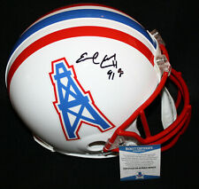 Earl Campbell signed Full Size Authentic Helmet, Houston Oilers, Beckett BAS
