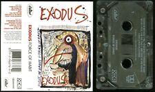 Exodus Force Of Habit USA Cassette Tape