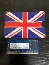 ELPIDA ,samsung PC3-12800S'8500 2GB DDR3  SODIMM RAM Memory Mix Brand 1 Pcs Each