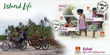 More details for kiribati cultures stamps 2021 fdc island life landscapes traditions nature 1v ms