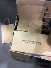 """99 count 5.25x75"""" Paper Bags with Rope Handle Shopping Gift Bags"""