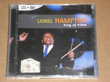 LIONEL HAMPTON - KING OF VIBES - CD + DVD COME NUOVO (MINT)