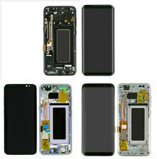 For Samsung Galaxy S8 Plus G955 LCD Replacement Screen Digitizer W/ Frame Shadow