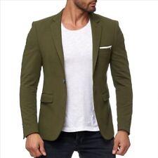 Ax Designer Business & fiesta caqui verde de tu chaqueta blazer chaqueta entallada slim fit 48