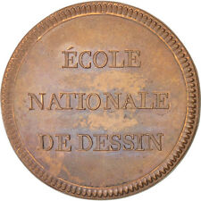 [#400538] France, The French Revolution, Token, MS(60-62), Copper, 35, 17.80