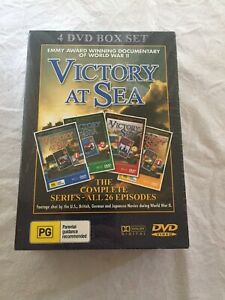 Victory At Sea 4 DVD Box Set Complete Series All 26 Episodes BRAND NEW IN SHRINK