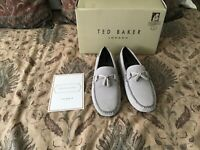Brand New In Box Ted Baker Erbonn Lt. Grey Size 11
