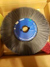 "Osborn ATB Composite Wheel Brush 14"" Dia, 2"" Arbor, 180 Silicon Carbide Lot of 2"