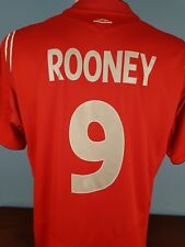 Authentic England Rooney Away shirt 2004 - 2006 Size Large World Cup 2018 (008)