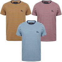 Tokyo Laundry Men's Pacora Crew Neck Striped T-Shirt Stripy Sailor Marine Top