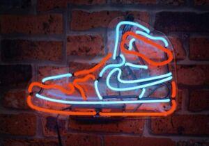 "New Boot Neon Light Sign Acrylic 14"" Decor Poster Man Cave Glass Bar"