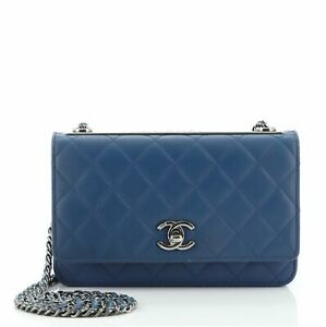 Chanel Trendy CC Wallet on Chain Quilted Lambskin