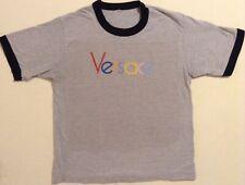 AUTHENTIC Versace Script Spellout Multicolor Pride Shirt Size M Gianni Donatella