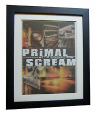 PRIMAL SCREAM+Vanishing Point+POSTER+AD+RARE ORIG 1997+FRAMED+FAST GLOBAL SHIP