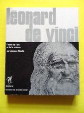 Jacques Nicolle Léonard de Vinci Editions Seghers Collection Savants 1970