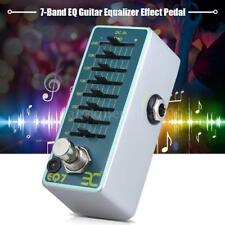 ENO Guitar Equalizer Effect Pedal 7-Band EQ True Bypass Mini+Free Ship C2X5