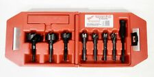 Milwaukee Heavy Duty 7Pc Contractor's Bit Kit 49-22-0130  W/case - 25936-2