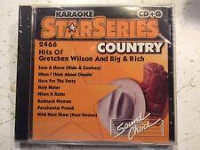 SOUND CHOICE STAR SERIES KARAOKE CD+G HITS OF GRETCHEN WILSON BIG & RICH 2466
