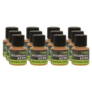 1/4 oz  bottles universal/ester A/C dye 12 Pack Tracer Products TP3840 P12