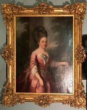18th Century Engagement Portrait of Young Princess Ordered by the Duke D' Alefot