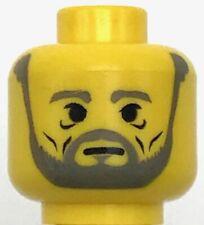 Lego Castle Light Bluish Gray Beard Minifig Neckwear