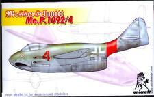 Unicraft Models 1/72 MESSERSCHMITT P.1092/4 German Jet Fighter Project