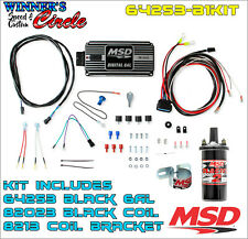 Msd 64253 6Al Ignition Kit Black - Includes Box, Coil and Bracket