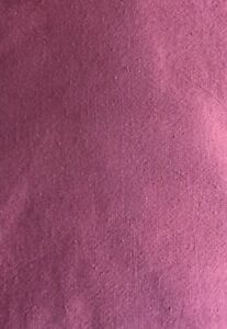 """Vintage Full Feed Sack Victorian Love Story Muted Red Violet  50"""" x 36"""""""
