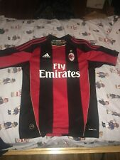 AC Milan Jersey Home 2010 Zlatan Ibrahimovic Size Small 11 Authentic Used Calcio