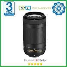 Nikon Nikkor AF-P DX 70-300mm F/4.5-6.3 G VR Lente - 3 año de ED Garantía