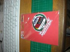 TOPPA PATCH  IN STOFFA RICAMATA michael schumacher collection  casco f1