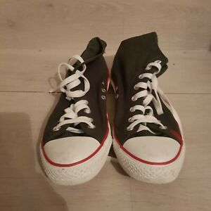 """MENS NAVY BLUE SUPERDRY CONVERSE RETRO STYLE SHOES SIZE 9 UK """"Never Worn"""""""