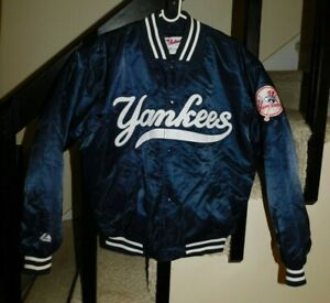 NEW YORK YANKEES DUGOUT JACKET BY MAJESTIC AUTHENTIC COLLECTION SIZE M NWOT'S