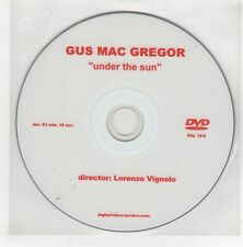 (GQ990) Gus Mac Gregor, Under The Sun - DJ DVD