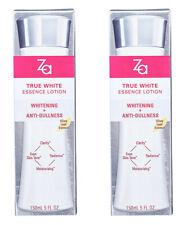2 x 150ml. Shiseido ZA True White Ex Essence Lotion Whitening Serum