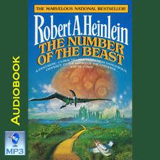 THE NUMBER OF THE BEAST - Robert Heinlein - UNABRIDGED MP3 CD