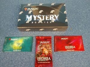 Magic the gathering Mystery Booster Box Sealed. Plus 3 Free gifts!